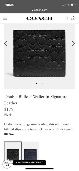 Leather Coach Wallet for men for Sale in Manhattan Beach, CA
