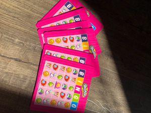 Shopkins bingo for Sale in Rancho Cordova, CA