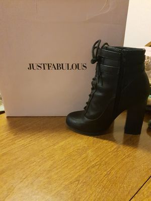 JustFab boot heels for Sale in Anaheim, CA