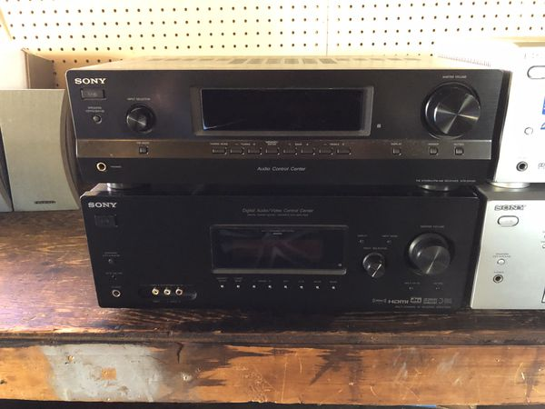 Home Stereo Receiver Amplifier