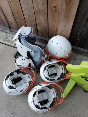 Free: Riddell Youth Football Helmets and Breastplate for Sale in San Diego, CA