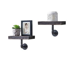 Brand New Danya B. Floating Pipe Industrial Wall Mount Shelves for Sale in Clinton Township, MI