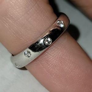 Tiffany&co platinum diamond Etoile Ring 6.5 for Sale in Fort Lauderdale, FL