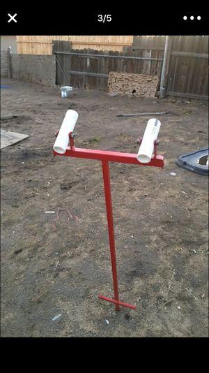 Fishing pole stand 🎣 for Sale in San Bernardino, CA