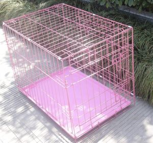 Pink puppy cage for Sale in Rockville, MD