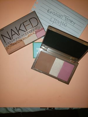 Urban decay naked flushed trio for Sale in VA, US