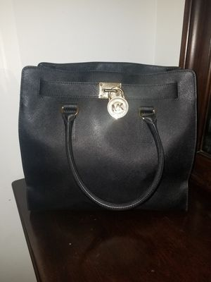 Michael Kors Hamilton Large Saffiano Tote Bag Black for Sale in Boyds, MD