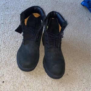 All Black Timberland Boots Size 12 for Sale in Powder Springs, GA