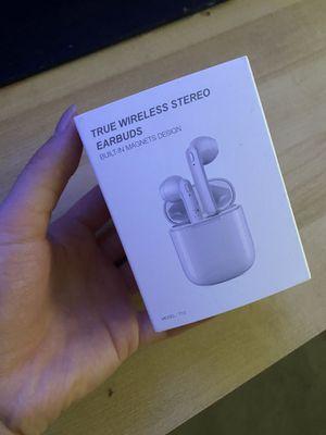 Wireless earbuds Bluetooth 5.0 for Sale in Bellevue, WA