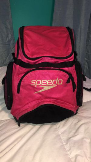 Speedo Teamster Backpack Swim Bag Pink for Sale in Staten Island, NY