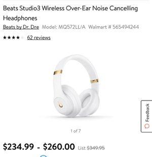 Studio beats by Dre headphones for Sale in Boston, MA