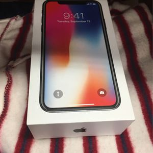 IPhone X 256 Gig Factory Unlocked Free Warranty for Sale in Houston, TX