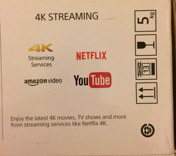 SONY BluRay 4-K /3-D/DVD/CD Player