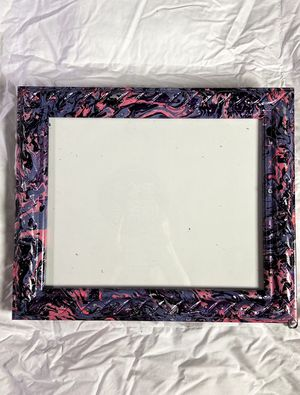 Custom hand painted Picture Frame for Sale in Delray Beach, FL
