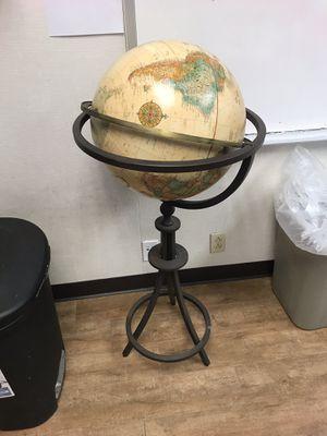 Standing globe for Sale in El Cajon, CA