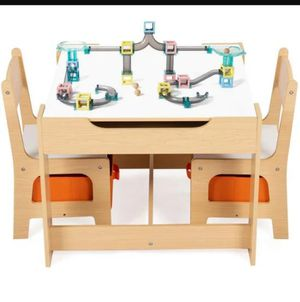 Kids Table And Chair Set With Storage Boxes for Sale in Rancho Cucamonga, CA