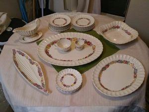 22 pc copeland great britain rose briar china set for Sale in Stockton, CA