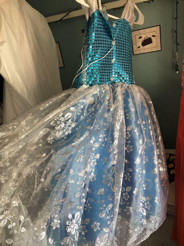 Princess Elsa dress. Beautiful