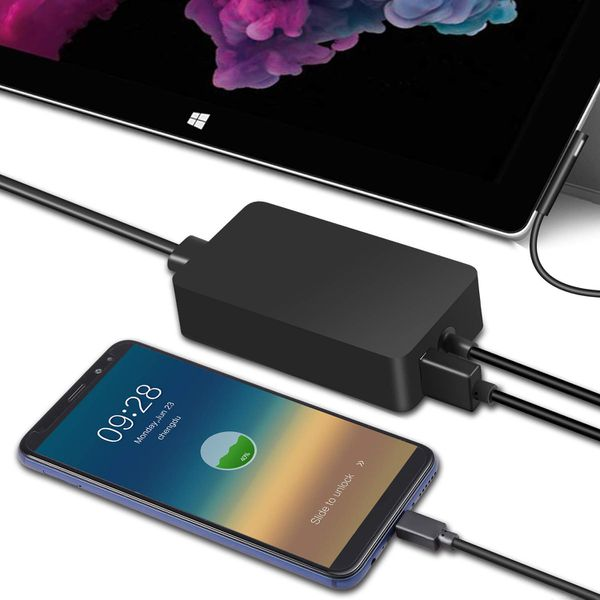 New Trohestar Surface Pro 4 Charger 44W 15V 2.58A Power Adapter Laptop Charger Compatible with Microsoft Surface Pro 3 Pro 4 Pro 5 Pro 2017 Pro 6 Sur