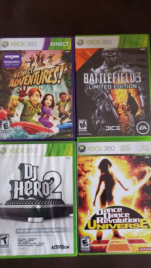 6 XBOX 360 GAMES for Sale in Temecula, CA