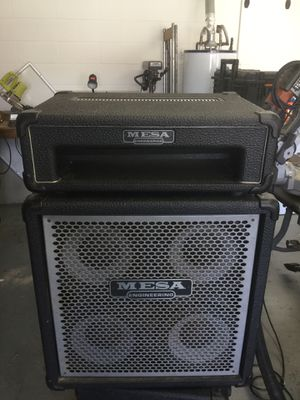 Mesa boogie 4/10 bass cabinet for Sale in Orlando, FL