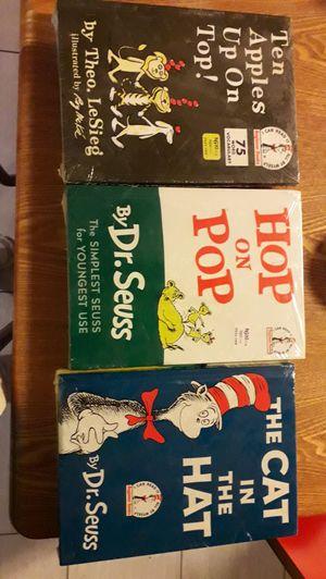 Dr. Suess books 9 books for Sale in Eldon, IA