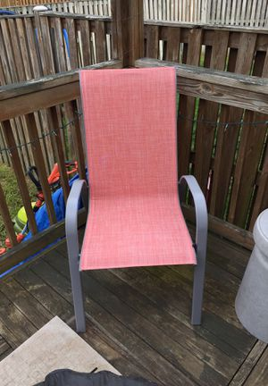 Stackable patio chairs for Sale in Aldie, VA