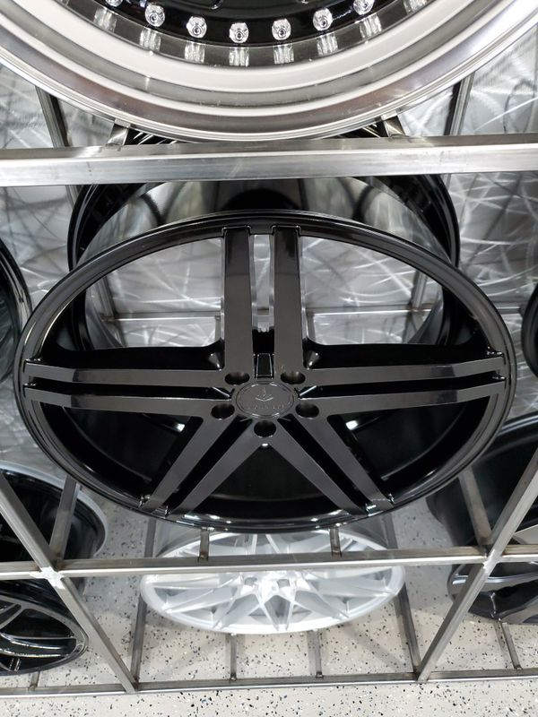 19x8.5 5x112 et42 verse V99 gloss black wheels fits Mercedes audi Volkswagen wheel tire rim shop