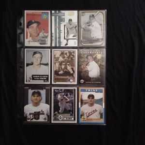 (9) Different HARMON KILLEBREW Baseball Card Lot Minnesota Twins for Sale in Redmond, WA