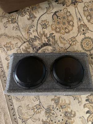 !!!!! JL AUDIO SUBS W3x2x12s W/ RF Power AMP !!!!! for Sale in Murfreesboro, TN