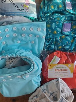 Unused Cloth Diapers - Assorted Brands for Sale in Cleveland, OH