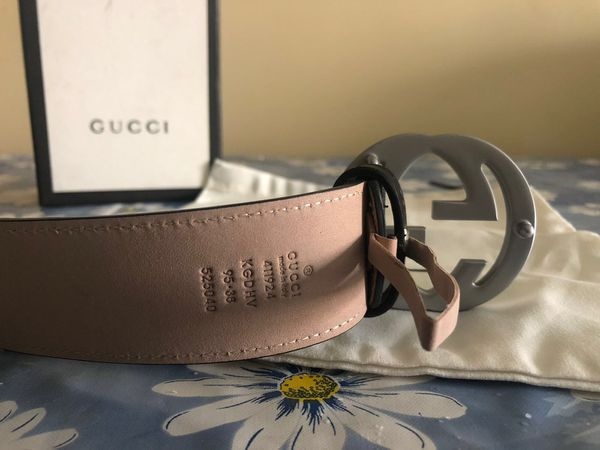 Gucci Black GG Supreme Belt *Authentic*