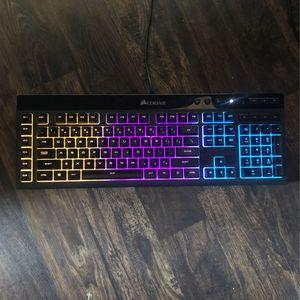 Corsair K55 Mechanical RGB Gaming Keyboard for Sale in Carrollton, TX
