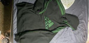Mens medium Adidas green hoodie for Sale in Holbrook, MA