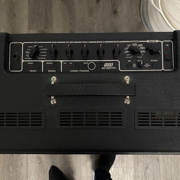 Vox Valvetronix Half Stack Amp w/ Vox Dual foot switch