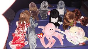 Ty Beanie Babies Sea Life for Sale in Columbus, OH