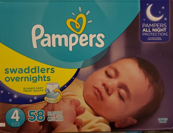 Pampers Swaddlers Overnight Diapers