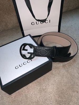 Black Gucci size 36-38 for Sale in Atlanta, GA