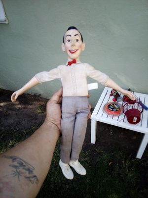 Old school peewee herman dollno jacket make me a offer for Sale in Stockton, CA