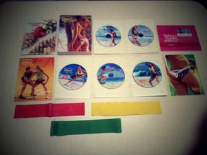 Brazil Butt Lift - Complete dvd set, meal guide, & resistance bands for Sale in Virginia Beach, VA