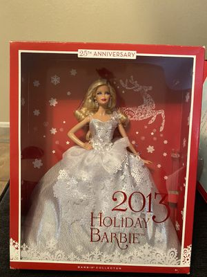 2013 Holiday Barbie (25th Anniversary) for Sale in Tempe, AZ