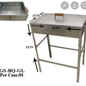 Classic BBQ Grill Galvanized BBQ Grill for Sale in Irvine, CA