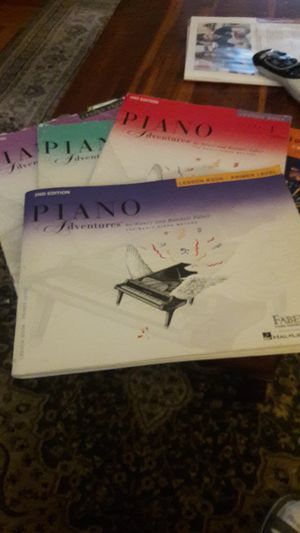 FABER piano lesson books for Sale for sale  Queens, NY