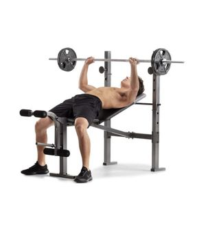 Workout bench and rack combo for Sale in Plano, TX