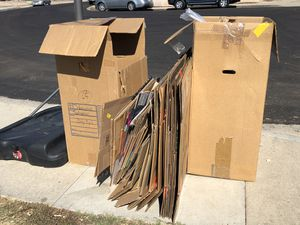 Free Moving Boxes and Packing Supplies for Sale in Lakeside, CA