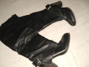 Will deliver in LALong chap black boots for Sale in Los Angeles, CA
