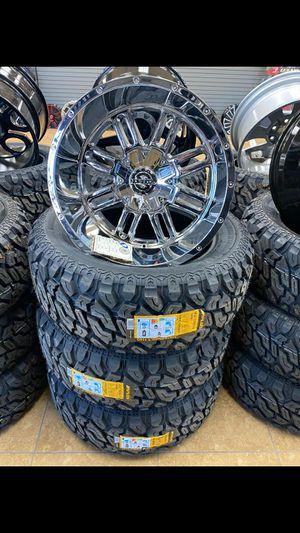 20x10 MONKEY RIMS AND TIRES for Sale in Phoenix, AZ