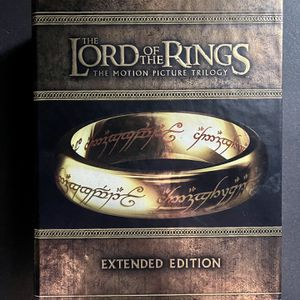 Lord Of The Rings Trilogy - Extended Edition Blu-Ray for Sale in Bothell, WA