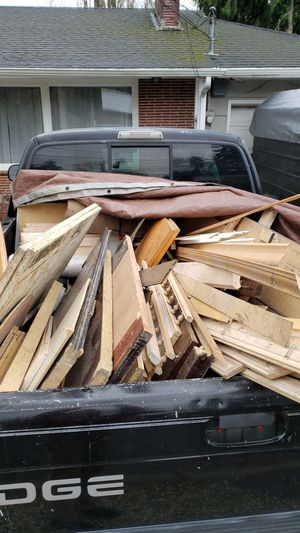 LOTS of FREE-wood, trim, cab. doors, wood floor, cabinets, Doors, panels, car bed, tile, electronics... And more... for Sale in Camas, WA