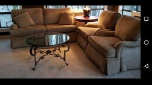 Sofa Couch & two matching Captains chairs for Sale in Mukilteo, WA